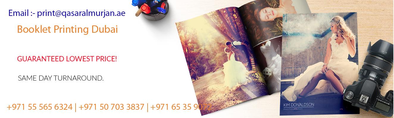 Booklet Printing Dubai